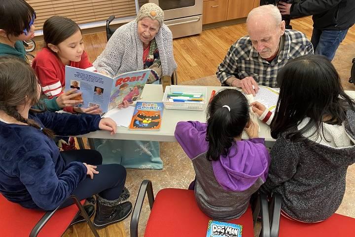 Making memories: Grade 4 students and seniors swap childhood stories