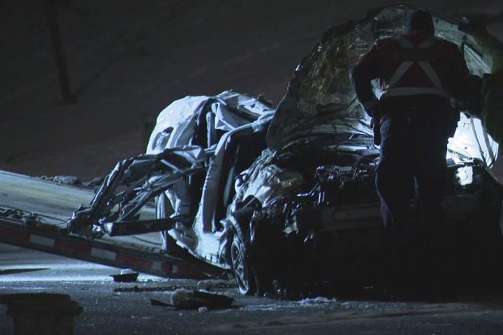 One dead following late night crash in northwest Calgary
