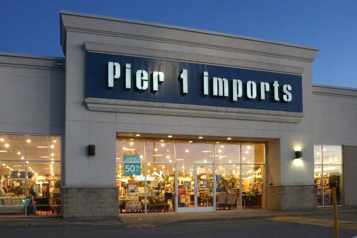 Pier 1 Imports closing all Canadian stores as it files for bankruptcy protection
