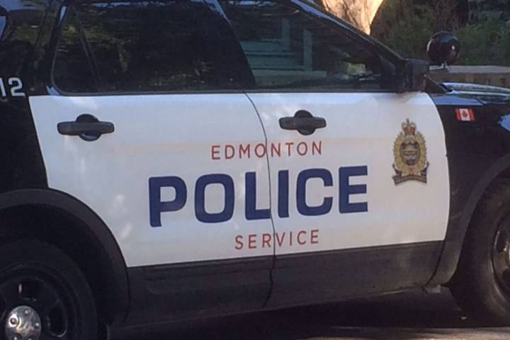 Released suspect steals police vehicle from Edmonton headquarters