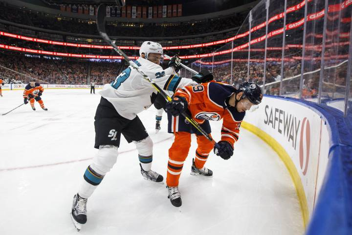 Sharks take big bite out of Edmonton Oilers