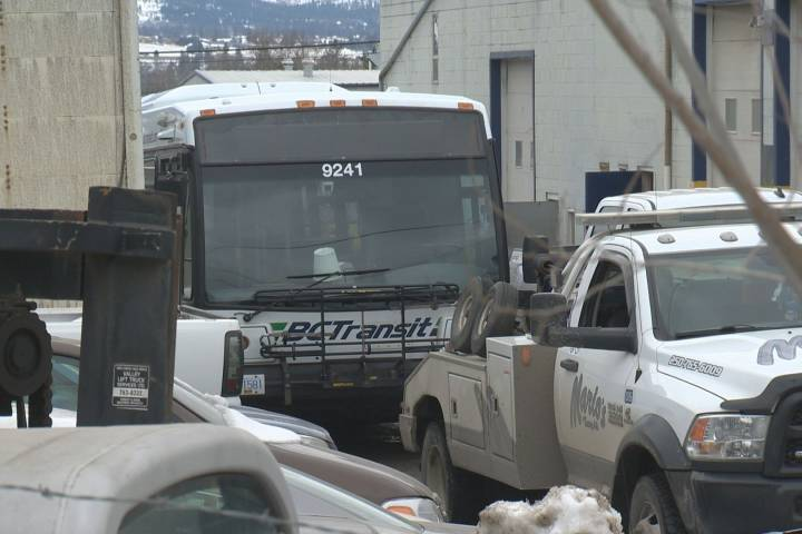 Transit bus impounded following traffic stop by Kelowna RCMP