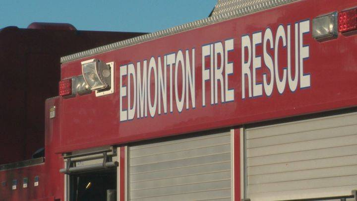 60 firefighters called to south Edmonton industrial fire