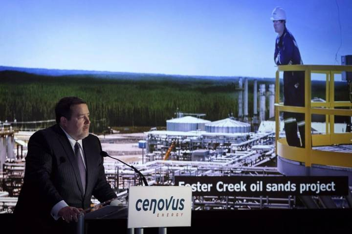 Cenovus cuts 2020 capital spending plan due to world oil price plunge