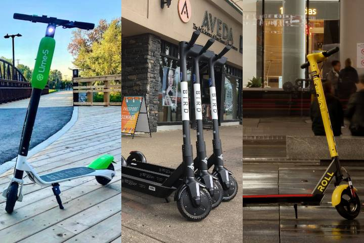 E-scooters returning to Edmonton streets this spring