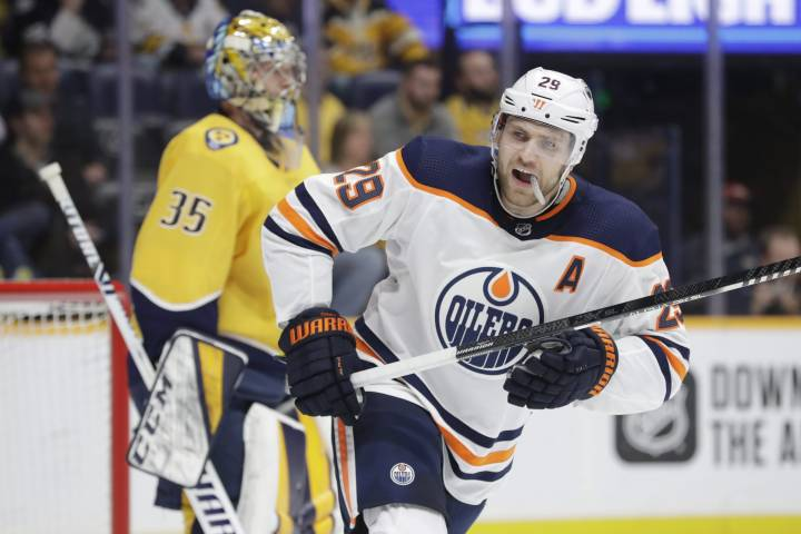 Edmonton Oilers' Leon Draisaitl trying to stay sharp during NHL pause