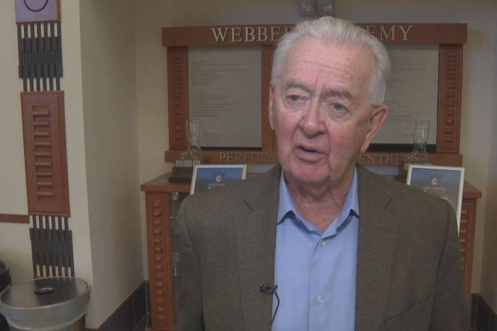 Former Reform Party leader Preston Manning talks Western alienation in Calgary