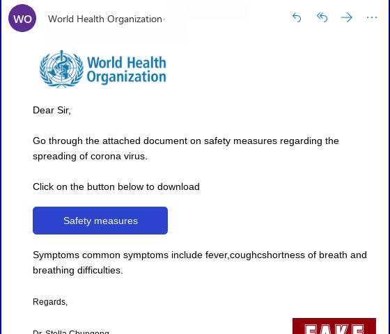 How to protect yourself against phishing and malware coronavirus scams