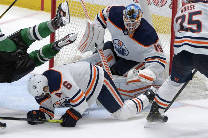 Mikko Koskinen backstops Edmonton Oilers to OT win in Dallas
