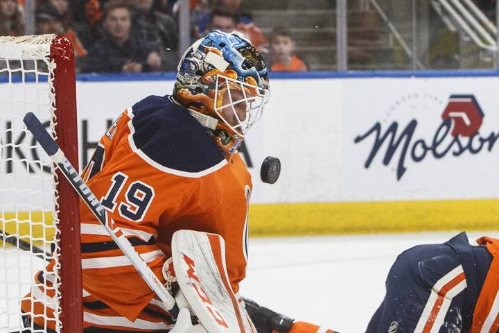 Mikko Koskinen brilliant again in Edmonton Oilers victory over Columbus