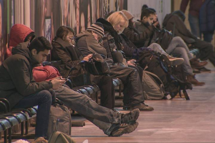 Via Rail said lengthy delays on its flagship train were an international 'embarrassment'