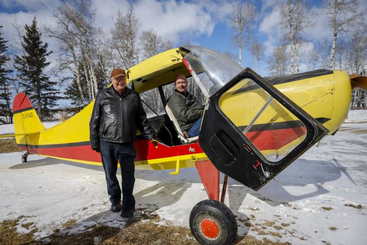 'Wonderful little bird': Alberta man retrieves his first plane 48 years later
