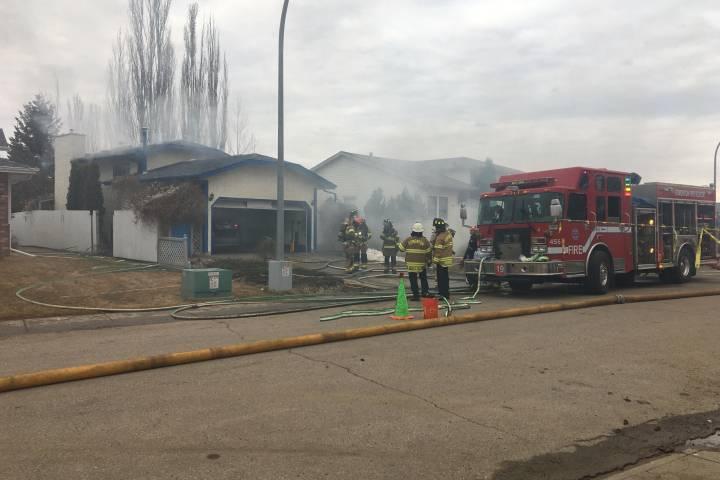 1 dead after west Edmonton fire