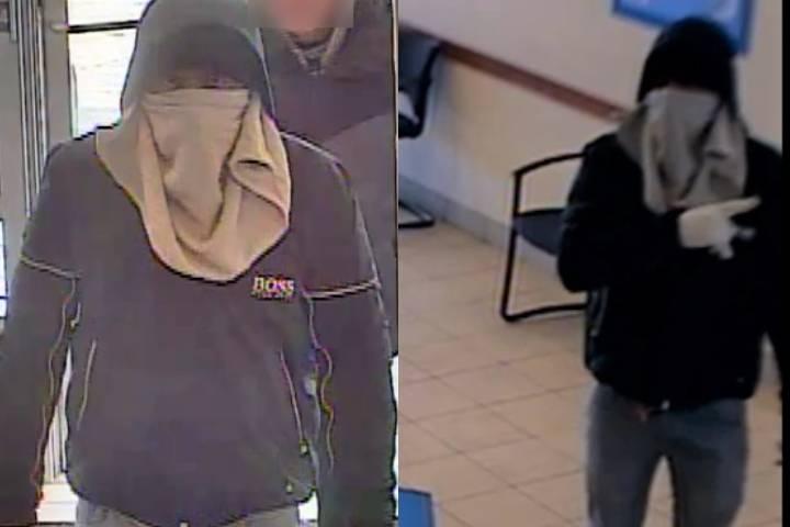 Calgary police release photos of BMO bank robbery suspect