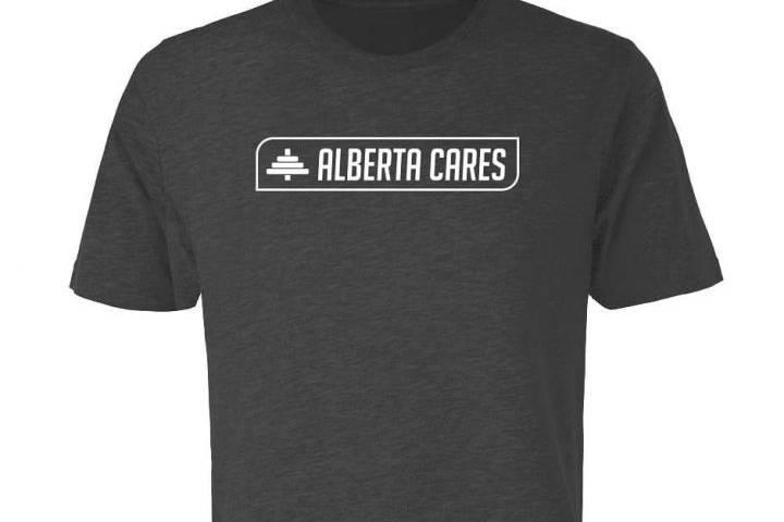 Coronavirus: Airdrie company creates Alberta Cares merchandise inspired by Dr. Deena Hinshaw
