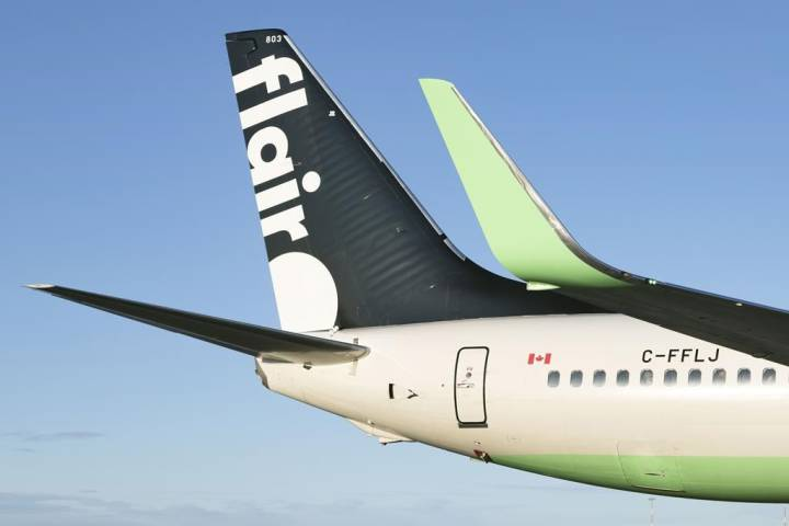 Flair Airlines rehires all laid-off employees and restores wages following federal subsidy