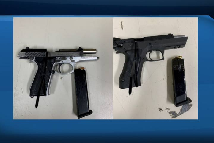 RCMP arrest man in Grande Prairie who fled collision with loaded handguns