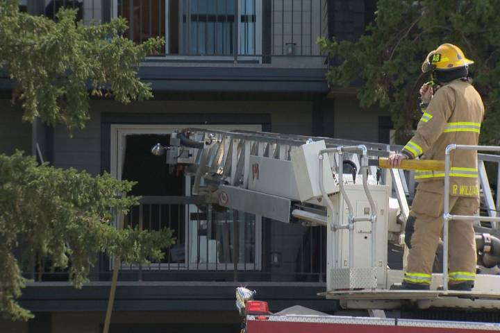 Calgary Fire Department responds to 2 blazes in south on Victoria Day