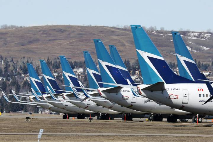 Coronavirus: WestJet extends flight cancellations due to reduced demand