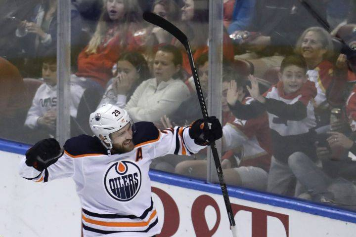 Edmonton Oilers' Leon Draisaitl becomes first German-born player to win NHL's Art Ross Trophy