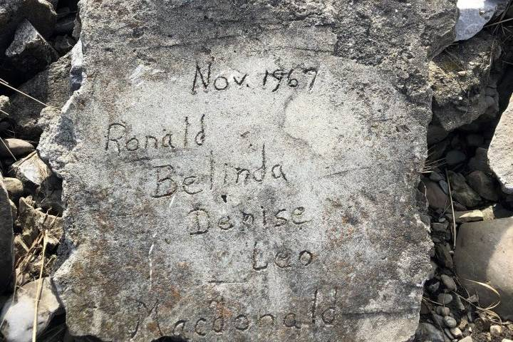 Family rock finds its way home to Calgary man after 50 years