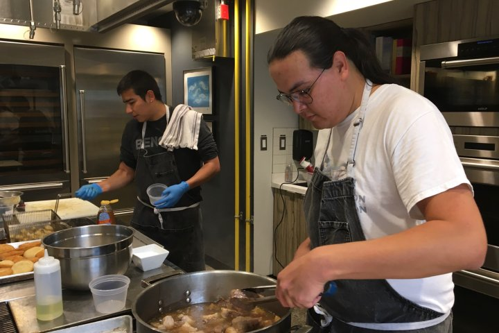 Indigenous chef from Edmonton looks to break racial barriers with pop-up restaurant