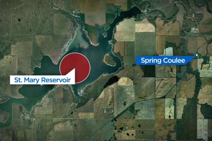 2 girls dead, search underway for 3rd girl missing in southern Alberta river
