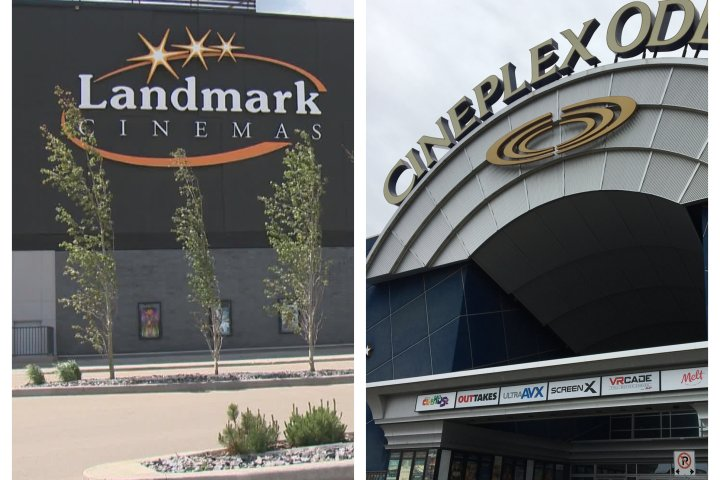 4 Edmonton-area movie theatres reopen with COVID-19 prevention measures