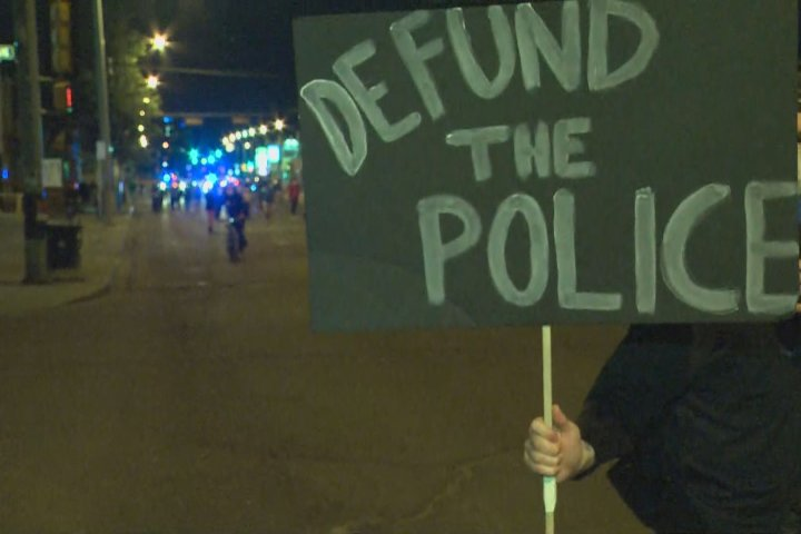 Black Lives Matter petition calls on Edmonton to defund police service