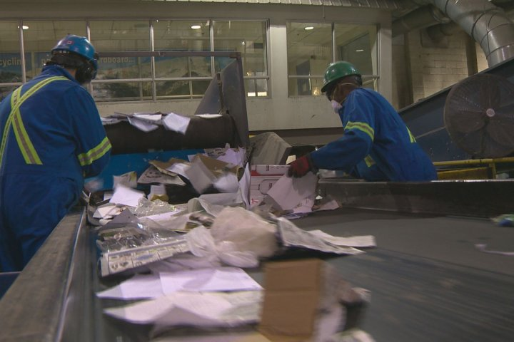 Edmonton recycling facility reopens after COVID-19 outbreak