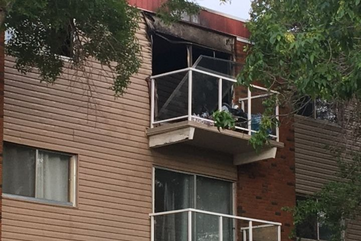 Firefighters respond to report of explosion at downtown Edmonton apartment building