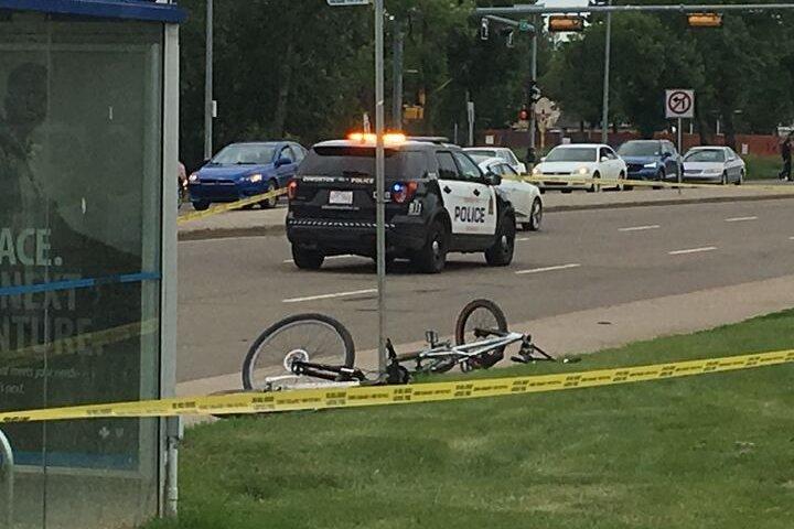 Good Samaritans help stabbing victim in central Edmonton