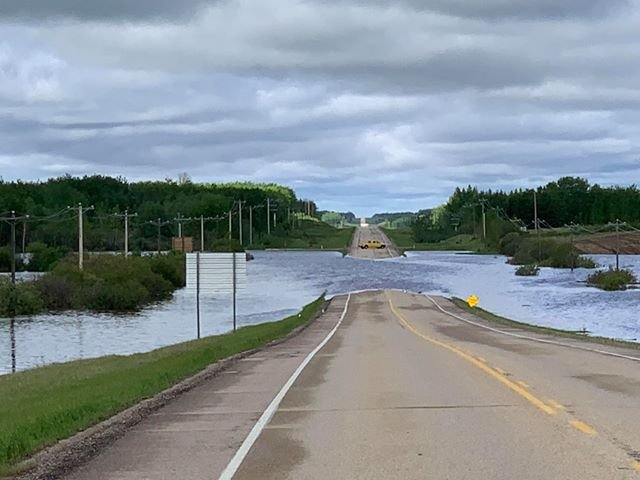 Heavy rain triggers flooding, states of local emergencies in Lac La Biche, Thorhild counties
