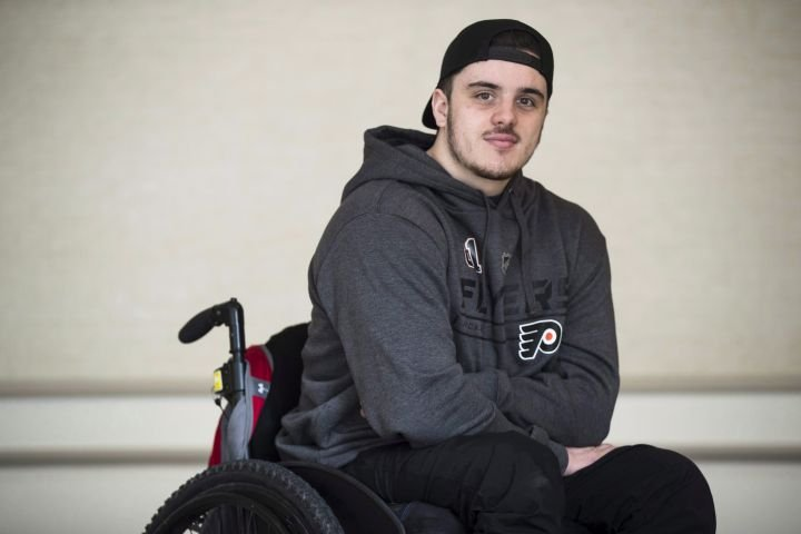 Injured Humboldt Broncos player Ryan Straschnitzki continues rehab during COVID-19 lockdown