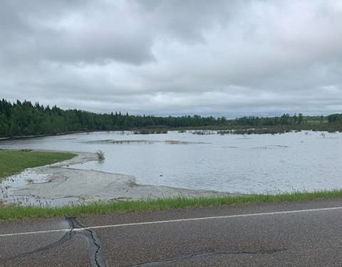 Lac La Biche residents allowed back home after flooding evacuation