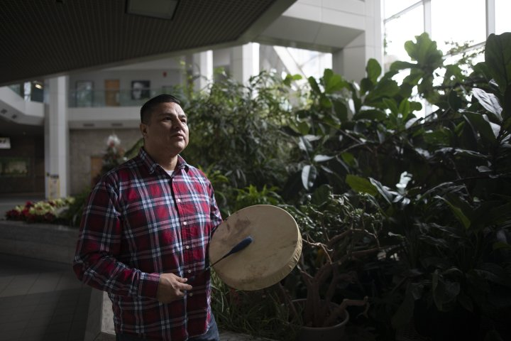 'More connected than we know': Alberta Cree musician sending masks to Navajo Nation