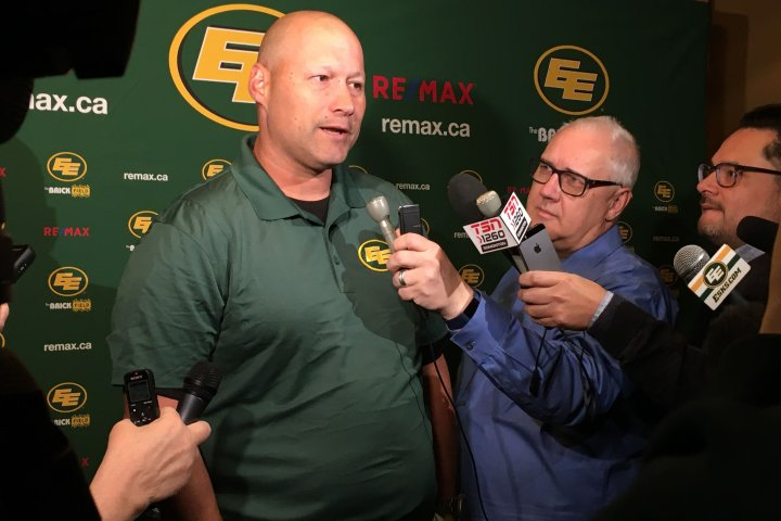 New Edmonton Eskimos head coach Scott Milanovich eager for season to start