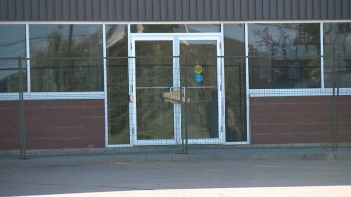 Police seeking tips on suspicious fire at south Edmonton fitness facility