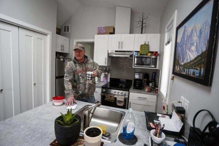 Tiny home development for homeless veterans approved for north Edmonton