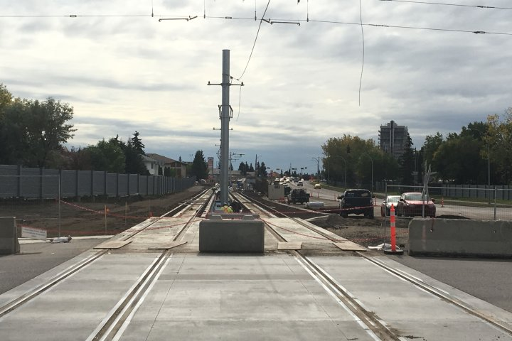 Valley Line LRT extension from downtown Edmonton to Mill Woods further behind schedule: city report