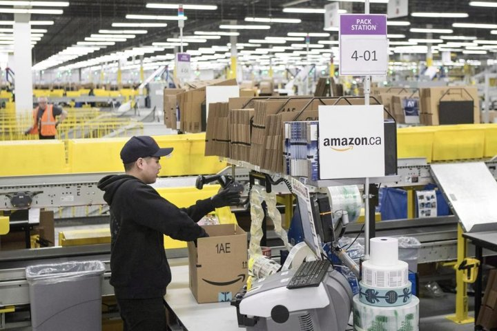 Amazon to hire 700 positions at Alberta facilities