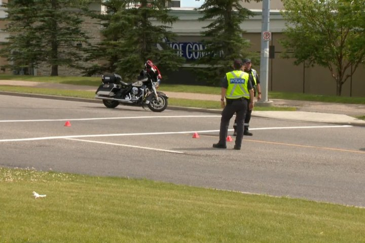 Calgary senior hospitalized after being struck by car