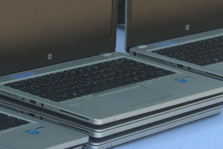 Coronavirus: Non-profits donate 60 laptops to Calgarians in need