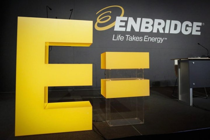 Enbridge's earnings slip as revenues plunge 40 per cent due to COVID-19 aftermath