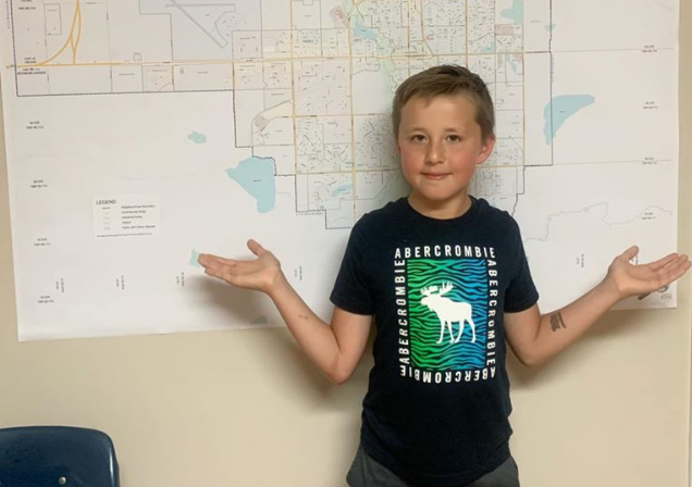 Jake the 'Weather Kid' sharing love of meteorology in Grande Prairie