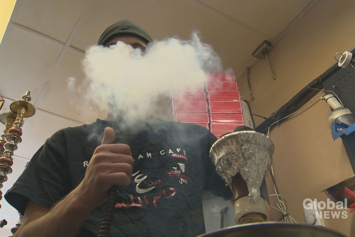 Smoking shisha in bars, lounges officially banned in Edmonton as of July 1, owners hoping to find workaround