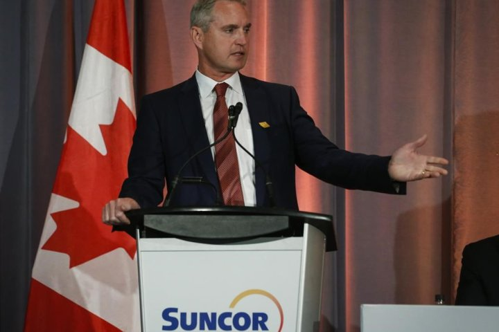 Suncor CEO signals caution about restarting oil output as economy recovers