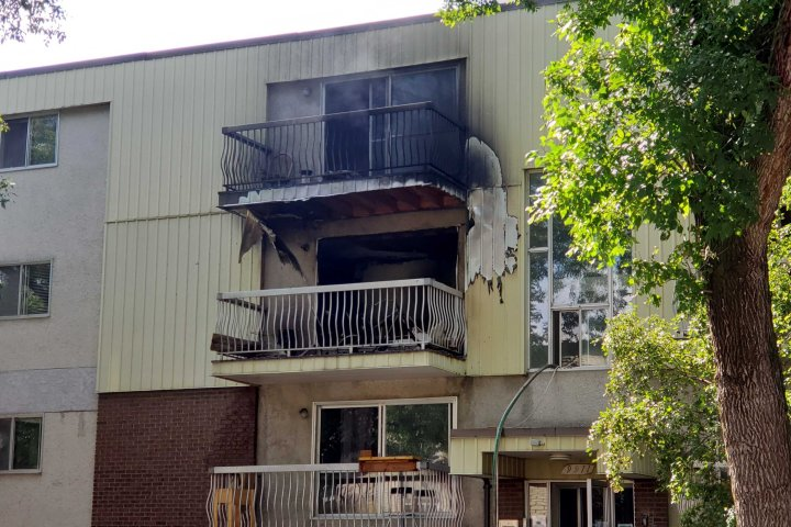 1 taken to hospital after fire at Old Strathcona apartment leads to balcony rescues