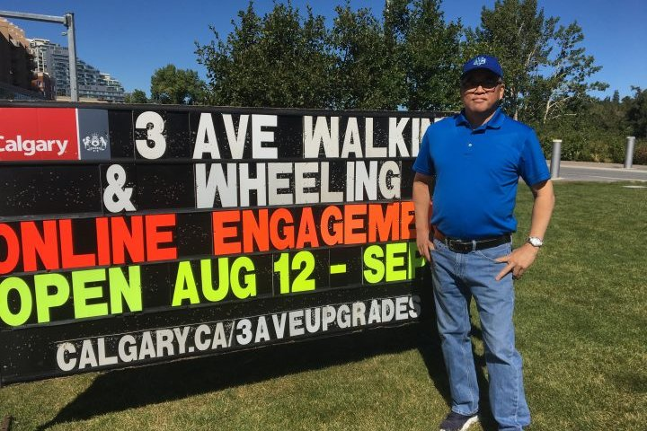 Calgary's Bow River pathway detour through Chinatown raises concerns