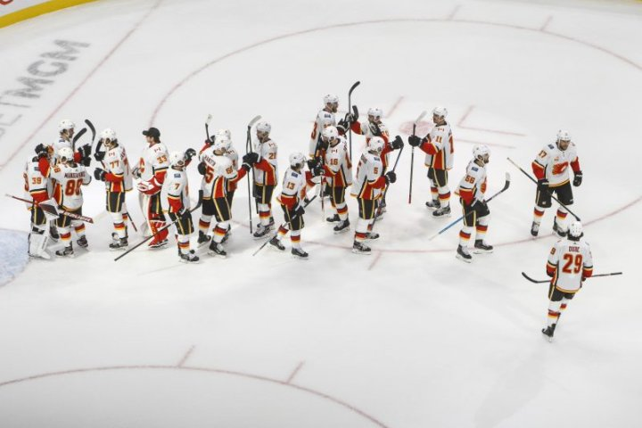 Calgary Flames defeat Winnipeg Jets to win NHL qualifying series 3 games to 1